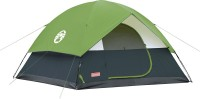 Coleman Sundome 6 Person Tent - For 6 People Size: 10 Feet X 10 Feet : Centre Height 6 Feet(Black, Green)