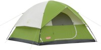 Coleman Sundome 6 person tent 10x10 feet - for 6 person Tent - For 6 persons(Green)