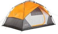 Coleman Instant Dome 5 Integrated Fly Tent - For 5 Persons(Orange, Grey)