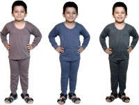 Bodysense Top - Pyjama Set For Boys(Multicolor)