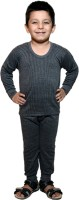 Bodysense Top - Pyjama Set For Boys(Black)
