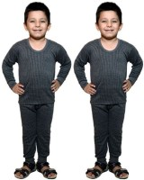 Bodysense Top - Pyjama Set For Boys(Black)