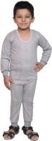 Bodysense Top - Pyjama Set For Boys(Grey)
