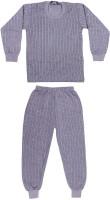 Laser X Top - Pyjama Set For Boys(Grey)