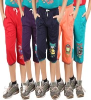 Meril Three Fourth For Boys(Multicolor Pack of 5)
