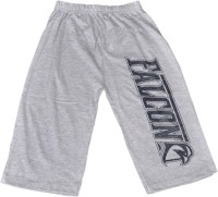 Frang Three Fourth For Boys(Grey Pack of 1)