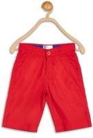 612 League Three Fourth For Boys(Red Pack of 1)