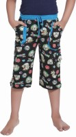 Red Ring Three Fourth For Boys(Black Pack of 1)