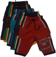 CRT Silks Three Fourth For Boys(Multicolor)