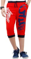 Fizzi Three Fourth For Boys(Red)