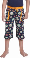 Red Ring Three Fourth For Boys(Blue Pack of 1)
