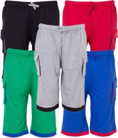 Ultra Fit Three Fourth For Boys(Multicolor)