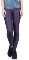 Yogue Printed Womens Purple Tights