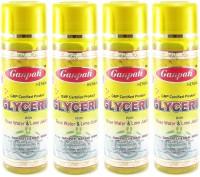 Ganpati Herbal Glycerin with Rose Water & Lime Juice 100ml Set of 4(400 ml)