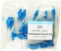 TePe Interdental Original - 0.6mm (Pack of 25) Soft Toothbrush