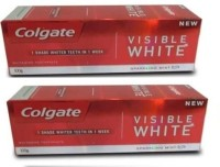 Colgate Visible White Toothpaste (Combo) Toothpaste(200 g)