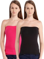 Espresso Casual Sleeveless Solid Women's Pink, Black Top