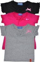 Clever Girls Casual Cotton Top(Pack of 3)
