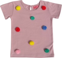 Always Kids Baby Girls Casual Cotton Top(Pack of 1)