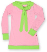 Dreamszone Girls Casual Cotton Full Sleeve Top(Green, Pack of 1)