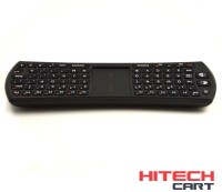 HiTechCart Keybord1 I24T Mini 2.4Ghz Wireless Remote Mouse 78-Key Touchpad Combo