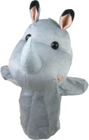 Cuddly Toys Rhinoceros Hand Puppets(Pack of 1)