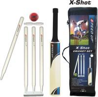 Speed Up Size 1 X-Shot Combo Cricket Kit(Bat Size: Long Handle (Age Group 15+ Years))
