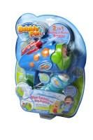 Toy Market 2 IN 1 BUBBLE N' WATER GUN (Blue) Water Gun(Blue)