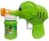Y & J Elephant Bubble Making Toy Guns & Darts(Green)