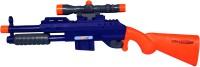 MITASHI Bang Finch Toy Gun Guns & Darts(Blue)