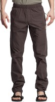 Beevee Solid Men's Dark Green Track Pants