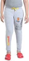Red Ring Track Pant For Boys(Grey)