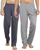 Alan Jones Solid Men's Grey, Grey Track Pants