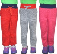 Shaun Track Pant For Girls(Multicolor)