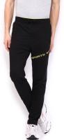 Sports 52 Wear S52wwwt08. Solid Men's Black, Yellow Track Pants