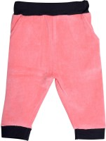 Lil Orchids Track Pant For Girls(Pink)
