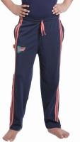 Red Ring Track Pant For Boys(Blue)