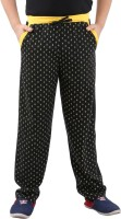 Fizzi Track Pant For Boys(Black)