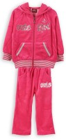 Lilliput Embroidered Baby Girls Track Suit