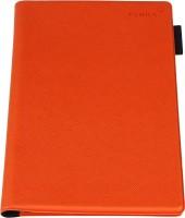 FENICE Premium Italian PU Leather Passport Cover(Orange)