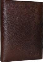 Knott Knott Premium Brown Passport Holder(Brown)