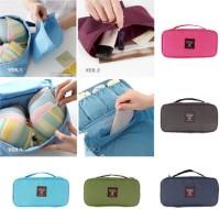Saleh Travel Organizer Bag For Underwear,Bra,Lingerie,make up & cosmatic(Multicolor)