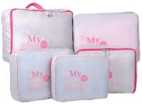 Magnusdeal 5 in 1 Sets Travel Bags in Bag Organizer(Grey)