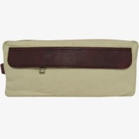 Chimera Leather 3620 Travel Toiletry Kit(White)