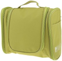 Honestystore Cosmetic Make up Bag Organizer Travel Toiletry Kit(Green)
