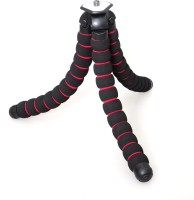 Axcess Octopus Gorilla Soft Flexible For Digital Camera Video Camcorder Stand Medium Tripod(Black, Red, Supports Up to 1000 g)