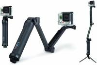 GoPro 3-Way Grip, Arm, Tripod Selfie Stick, Monopod(Black, Supports Up to 5000 g)
