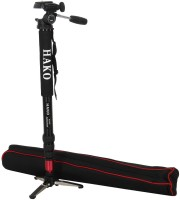 Hako Dv 4900 Monopod(Black, Supports Up to 4500 g)
