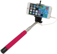 Casotec 269008 Wired Selfie????????????Stick Selfie Stick(Pink, Supports Up to 300 g)