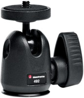 Manfrotto 492 Tripod Ball Head(Black, Supports Up to 2000 g)